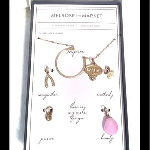Melrose And Market Inspire Necklace with Charms